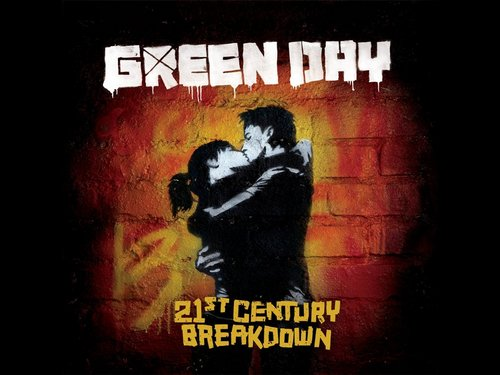Green Day wallpaper containing anime titled 21st Century Breakdown