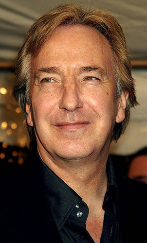 Alan Rickman karatasi la kupamba ukuta probably containing a business suit entitled A perfect gentleman