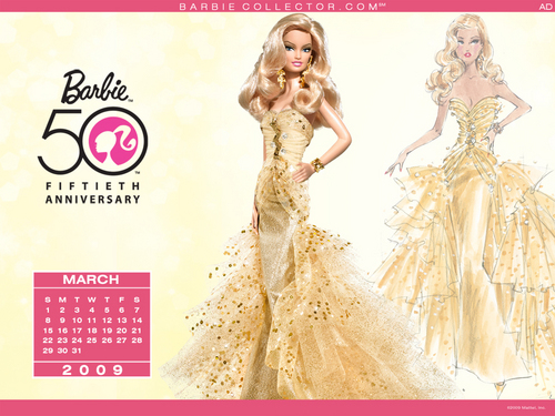 Barbie 50 years - barbie Wallpaper