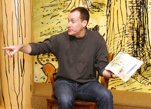 Barnes & Noble At The Grove Hosts A Special Storytime With John C. McGinley To Raise Awareness About
