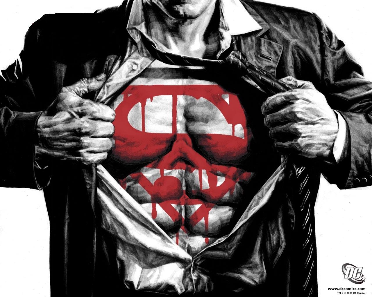 Bloody superman