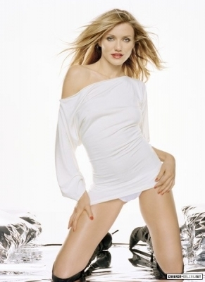 cameron diaz wallpaper probably containing bare legs, tights, and a pakaian bermain, playsuit called Cameron