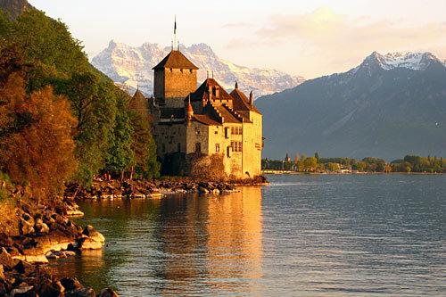 Chillon château