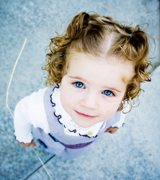 Cute  toddler girl!