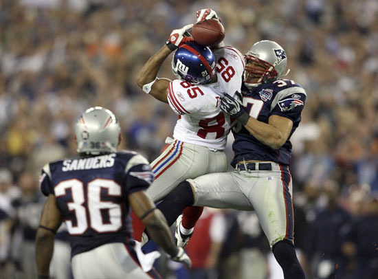 Nfl Players Images David Tyrees Super Bowl Catch Wallpaper And Background Photos