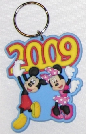 迪士尼 2009 Keychain