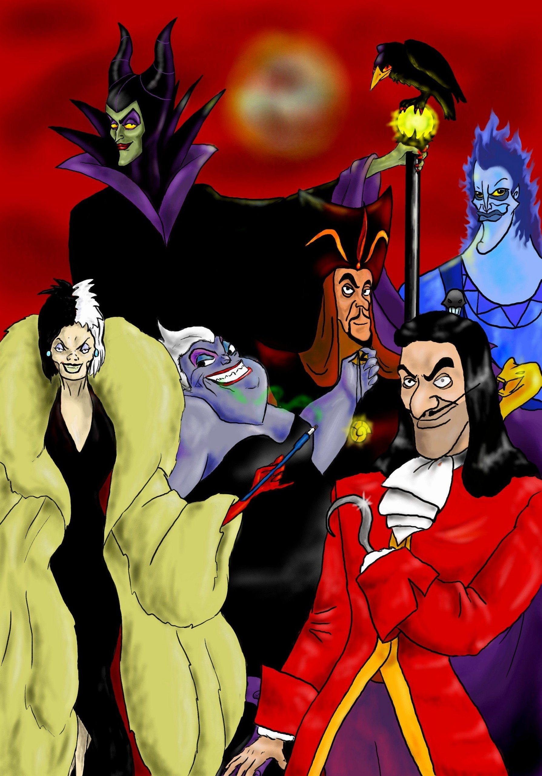 classic disney villains -#main