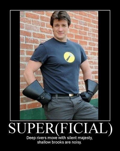 Dr. Horrible's Sing-A-Long Blog 壁紙 titled Superficial--Captain Hammer