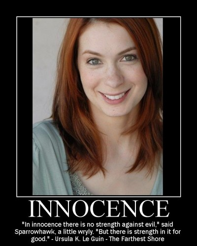 Dr. Horrible's Sing-A-Long Blog Hintergrund with a portrait entitled Innocence--Penny