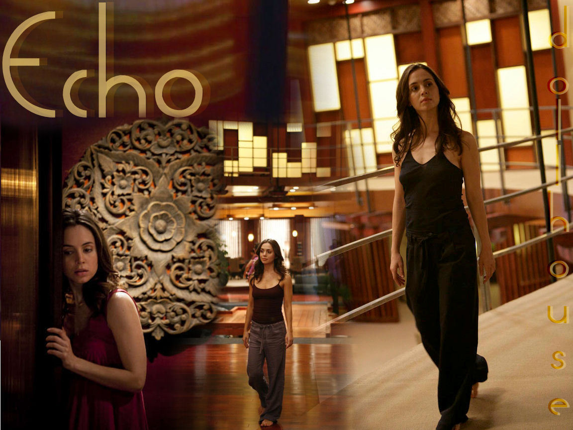 Echo from Dollhouse Wallpaper