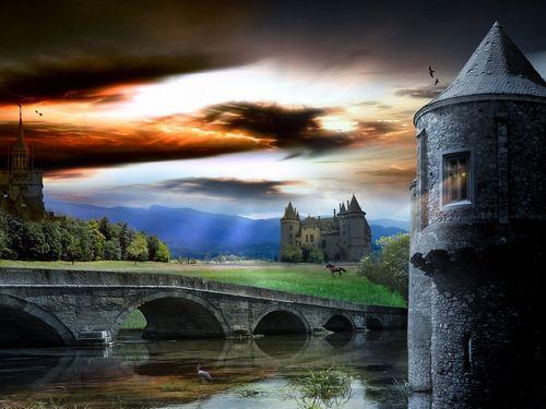 Fantasy kasteel