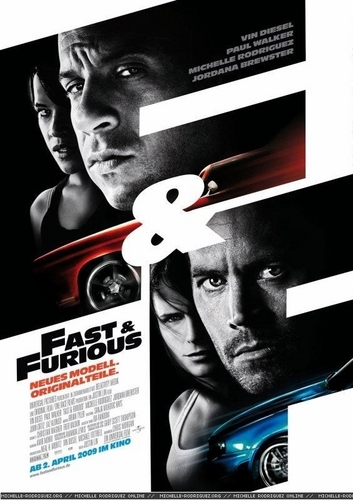German Fast & Furious Poster