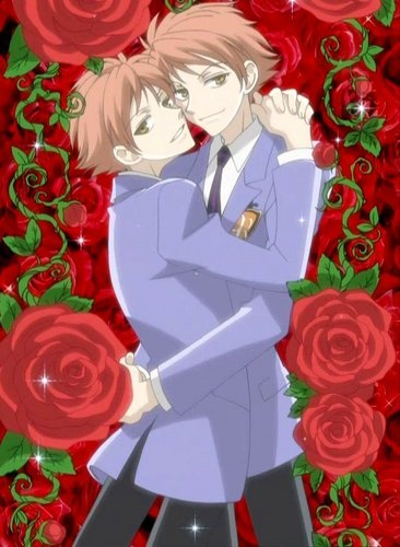 Ouran High School Host Club karatasi la kupamba ukuta entitled Hikaru and Kaoru