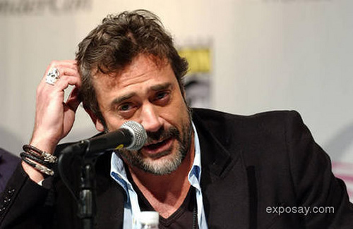 Jeffrey Dean morgan wallpaper containing a guitarist and a show, concerto entitled Jeffrey @ 2009 WonderCon