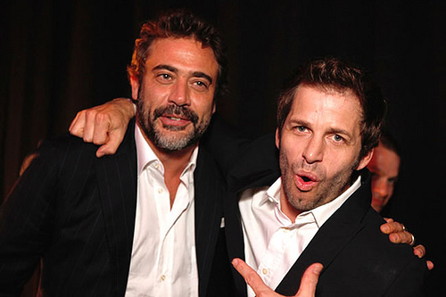 Jeffrey Dean morgan fondo de pantalla possibly containing a business suit and a suit called Jeffrey @ Vigilantes Premiere After Party