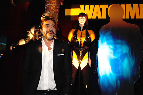 Jeffrey Dean morgan Hintergrund called Jeffrey @ Watchmen Premiere After Party