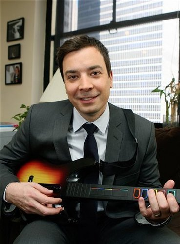 Late Night with Jimmy Fallon wallpaper with a business suit and a suit titled Jimmy Fallon