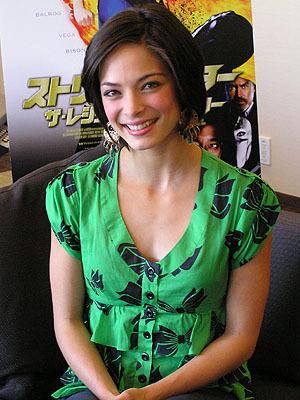 Kristin Kreuk: 2009 سٹریٹ, گلی Fighter: The Legend Of Chun-Li Japan Press Junket