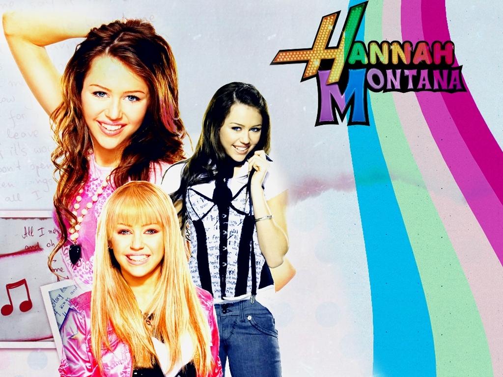 Miley As Hannah - miley-cyrus wallpaper