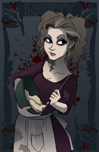 Mrs Lovett 粉丝 Art