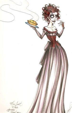 Mrs Lovett shabiki Art
