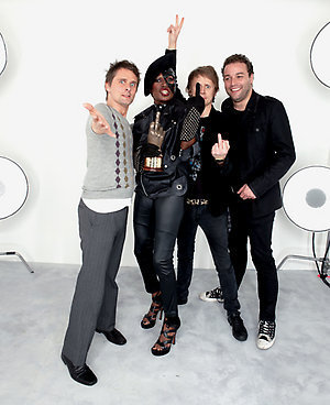 muse & Grace Jones at the NME awards 2009