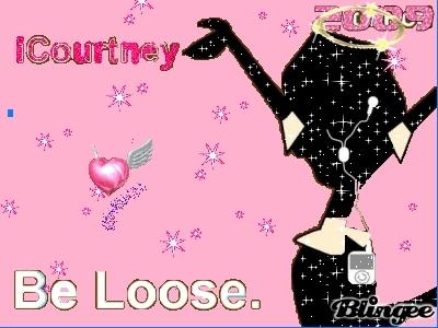 My iCourtney blingee