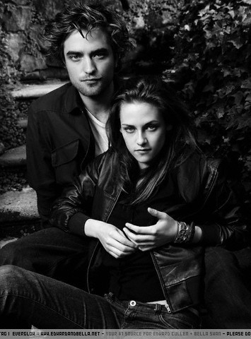 Twilight Series wallpaper probably containing a business suit entitled New Vanity Fair Outtakes- Rob and Kristen