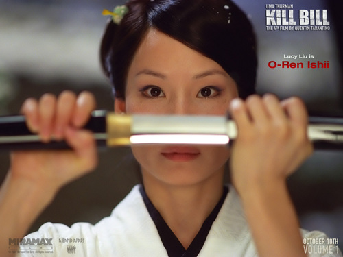 O-Ren Ishil of Kill Bill