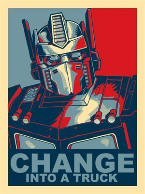 Optimus Prime: Change