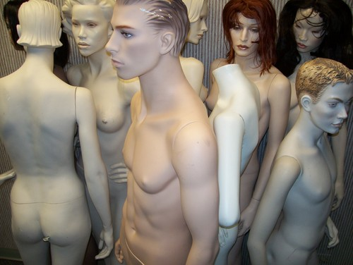 Mannequins দেওয়ালপত্র probably with skin called Patina Various