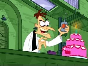 Perry's archnemisis: Dr. Heinz Doofenschmirtz