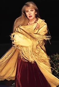 Stevie Nicks wallpaper probably with a kirtle, a cloak, and a polonaise entitled Stevie Nicks