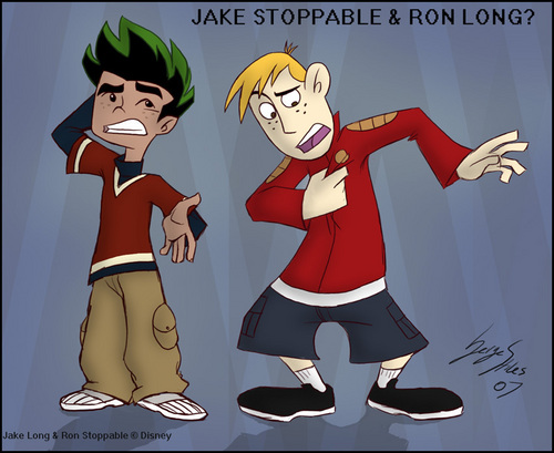 American Dragon: Jake Long wolpeyper containing anime entitled Switch xD