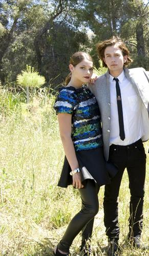 Jackson Rathbone & Ashley Greene 바탕화면 called Teen Vogue 09 Outtakes