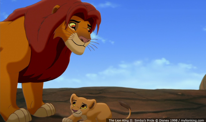good and evil in lion king