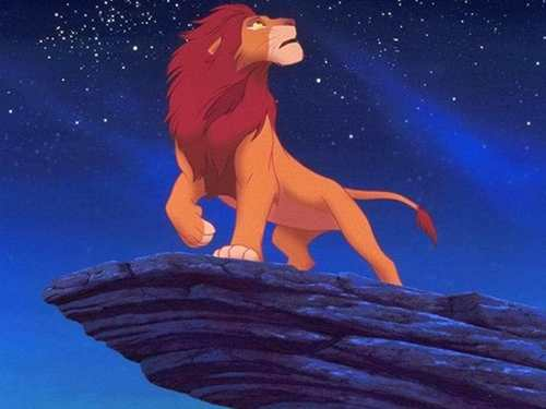 The Lion King kertas dinding