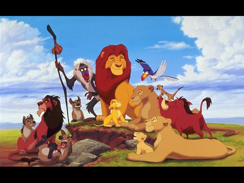 The Lion King fondo de pantalla