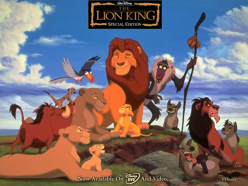 The Lion King fond d'écran
