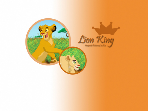 Classic Disney wallpaper titled The Lion King