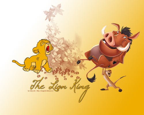 Classic Disney hình nền entitled The Lion King
