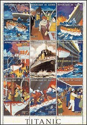 Titanic Stamps