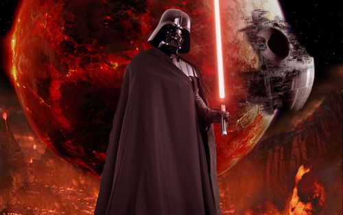 Star Wars wallpaper entitled Vader
