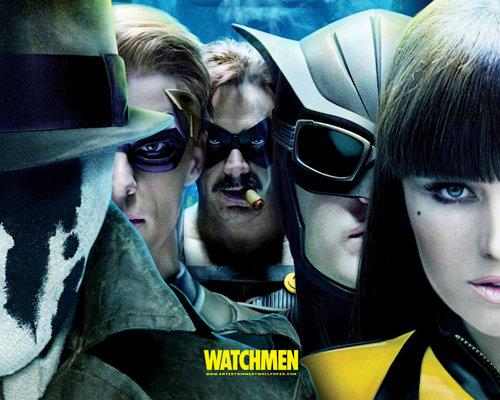 Jeffrey Dean morgan Hintergrund containing sunglasses called Watchmen