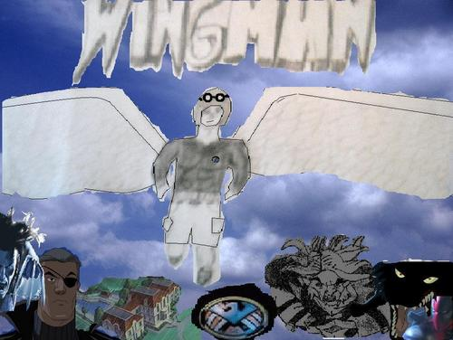 X-Men Fan Fiction wallpaper with anime called Wingman