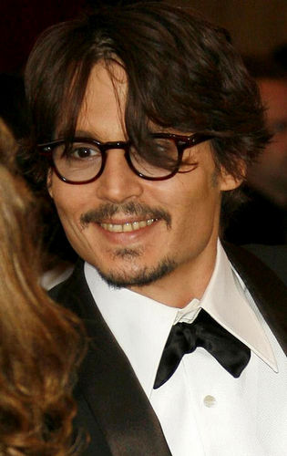 johnny depp at the oscars 2008