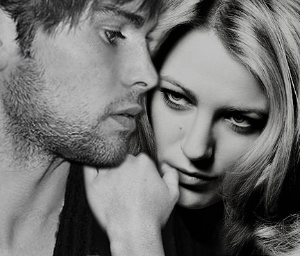 Blake Lively & Chace Crawford. wallpaper with a portrait entitled blake and chace