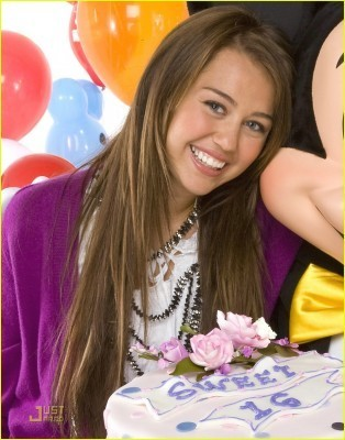 sweet 16 photoshoot - hannah-montana photo