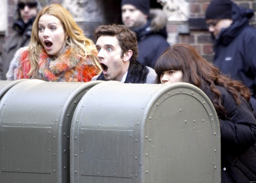 ugly betty set photo, 4th march