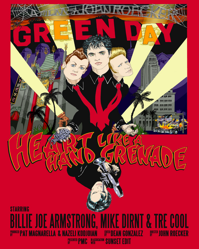 'Heart Like A Hand Grenade' Poster